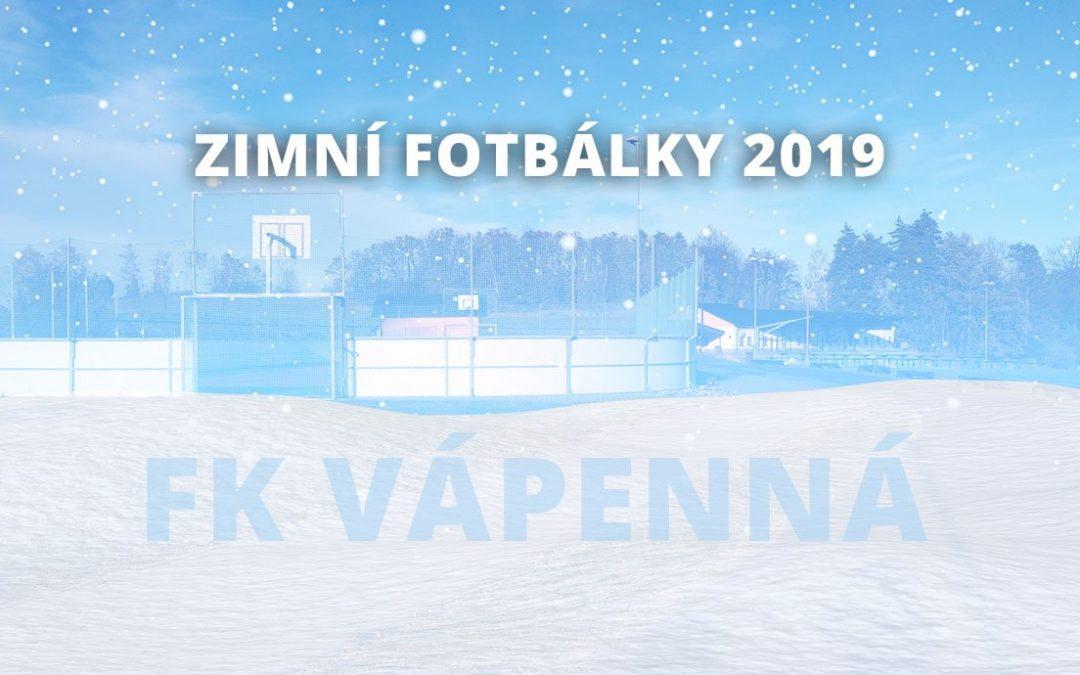 Zimní fotbálky 2019